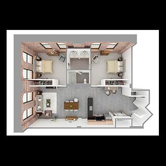 W2-F Floor plan layout