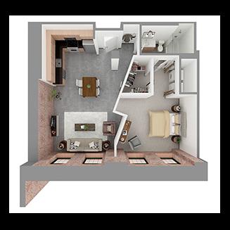 W1-F Floor plan layout
