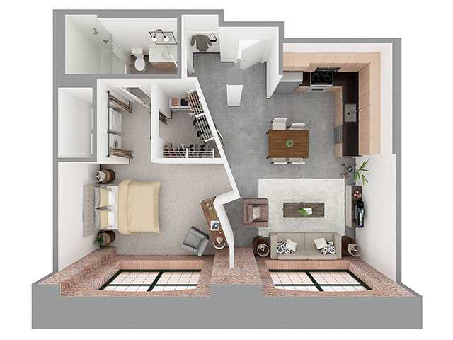 F1-C Floor plan layout