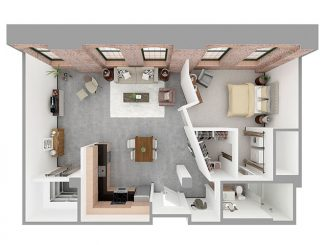 F1-J Floor plan layout