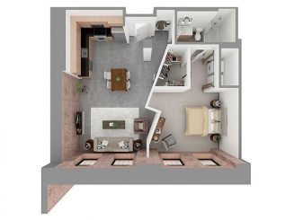 W1-F Floor plan layout